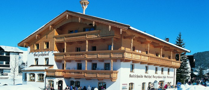Winteransicht - Gasthof Batzenhäusl