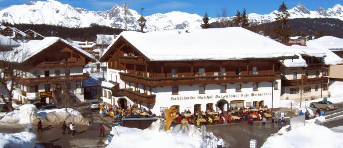 Gasthof Batzenhäusl im Winter