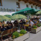 Gasthof Batzenhäusl Terrasse